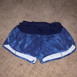Blue Lululemon Athletic Shorts! (Size 4)